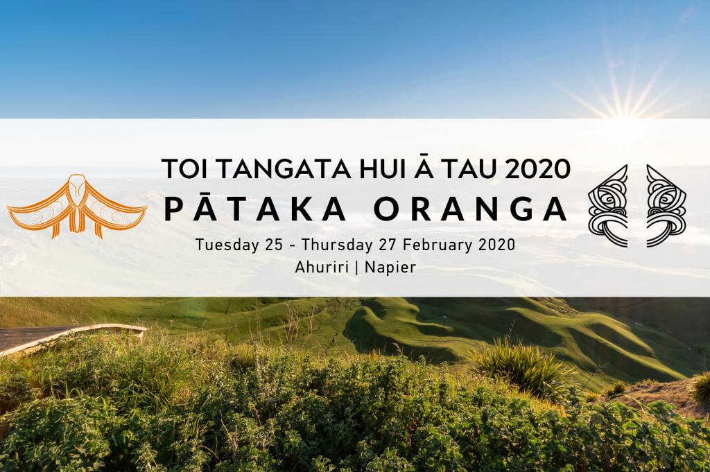 Toi Tangata Hui ā Tau 2020 Pātaka Oranga