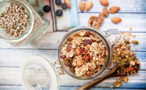 Pete the surfer's gluten and sugar free granola