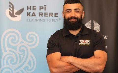 Ranginui Rikirangi-Thomas (Ngāti Pikiao, Ngāti Whakaue, Ngāti Ranginui)